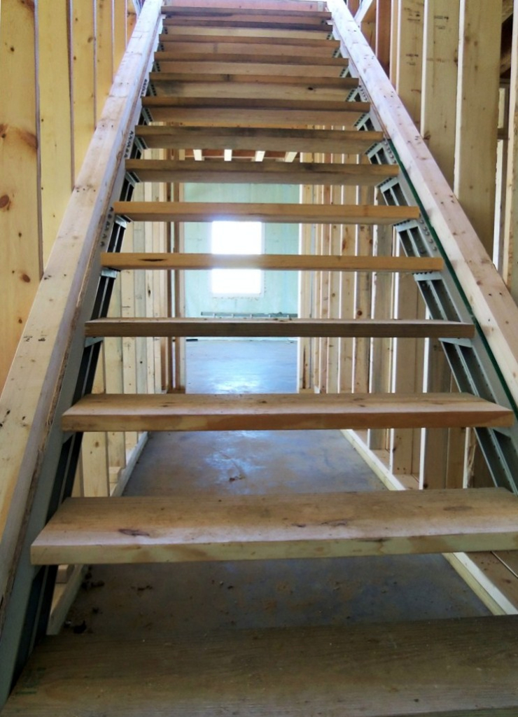 Indoor stairs stair kits for basement attic deck loft storage and more fast stairs blog - Attic houses with exterior stairs ...