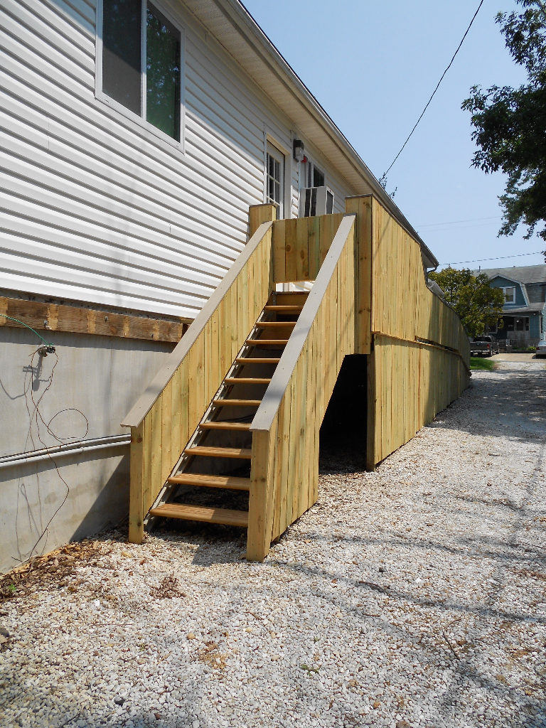 Fast stairs blog modular adjustable steel stair stringers - Attic houses with exterior stairs ...