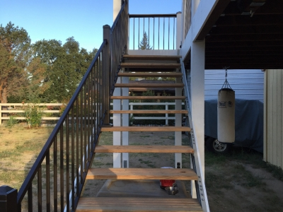 outdoor stairs stair kits for basement attic deck loft storage