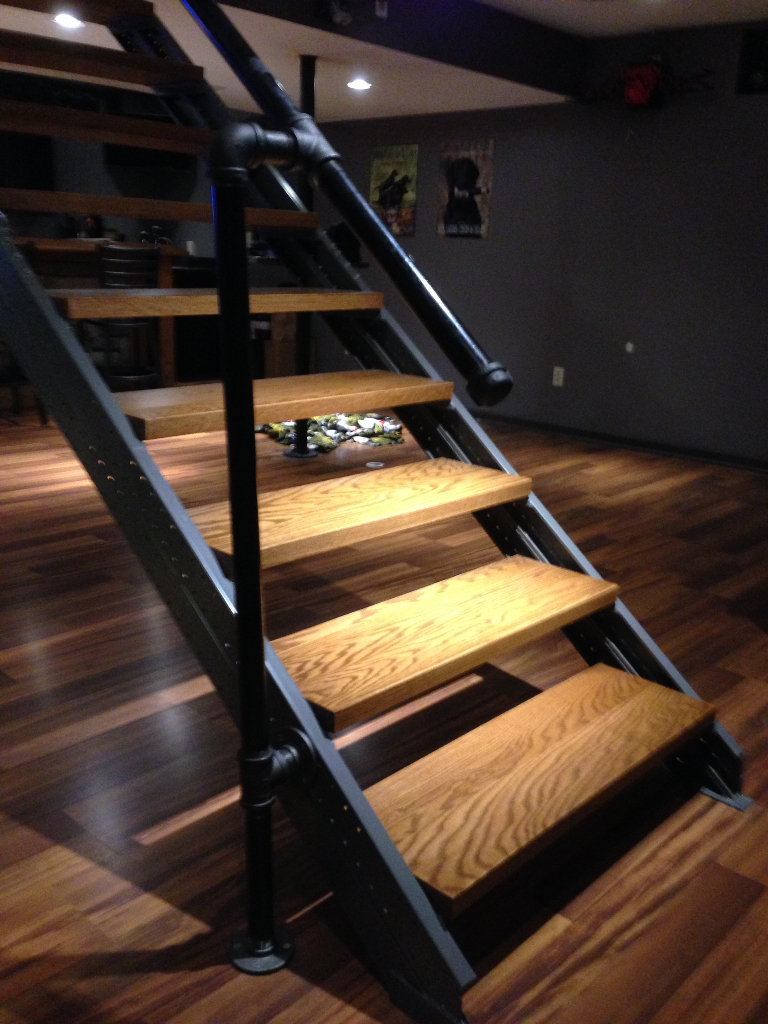 indoor stairs stair kits for basement attic deck loft this
