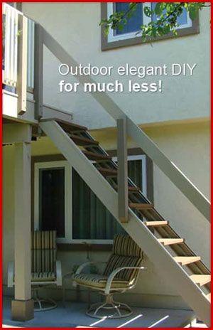 Outdoor Elegant Stairs
