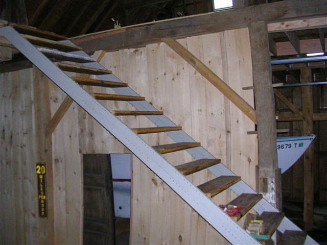 Barn Stair Stringers By Fast Stairs Com