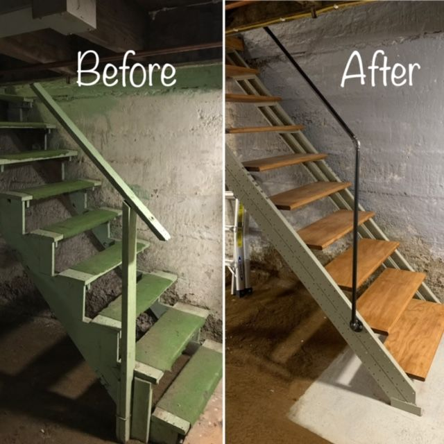 Basement Stair Stringers By Fast-Stairs.com