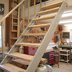 Basement Stair Stringers By Fast Stairs Com