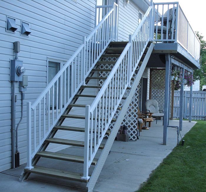 Deck Stair Stringers By Fast-Stairs.com