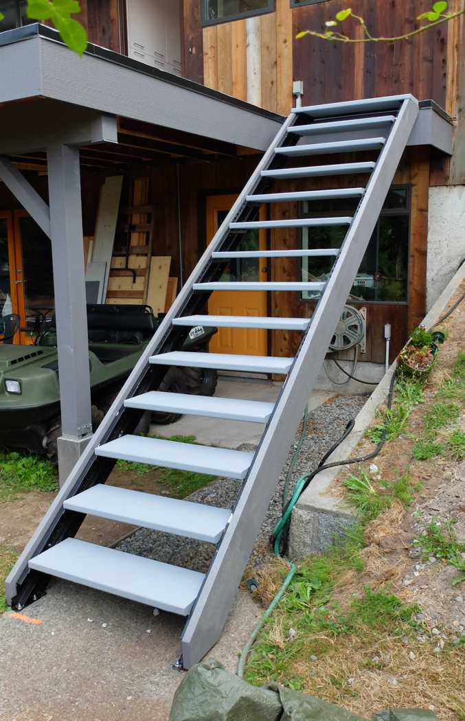 Outdoor Stair Stringers By Fast Stairs Com